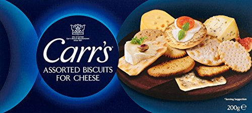 Carr's Assorted Biscuits for Cheese, 3er Pack (3 x 200 g) (Club Cracker)
