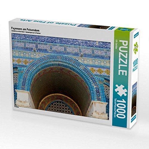 CALVENDO Puzzle Fayencen am Felsendom 1000 Teile Lege-Größe 64 x 48 cm Foto-Puzzle Bild von Uli Geißler