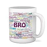 Sky Trends Printed Brother ceramic Coffee Mug St-12
