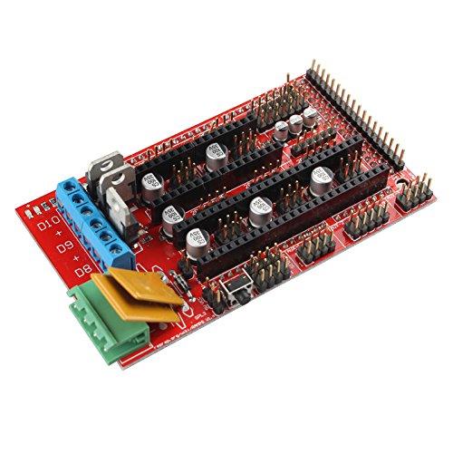 Haljia carte contrôleur pour imprimante 3d Rampes 1.4RepRap Mendel Prusa Arduino Boards