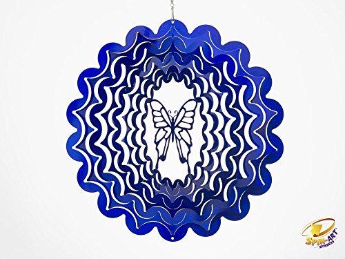 Spin Art Designer Butterfly Wind Spinner -