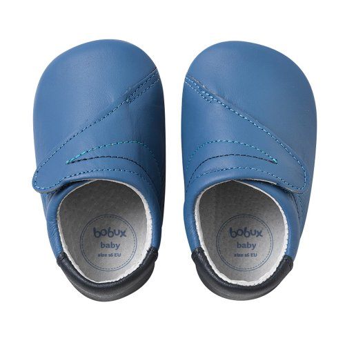 Bobux 460675, Chaussures souples mixte enfant Bleu