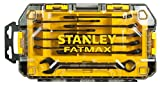 Stanley FatMax Mini-ToughBox Ring-Maulschlüssel, 10-teiliges Set, FMHT0-74717