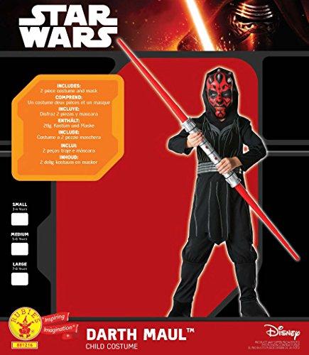 Imagen de star  disfraz de star wars para niño, talla m 5  6 años  r881216 m  alternativa