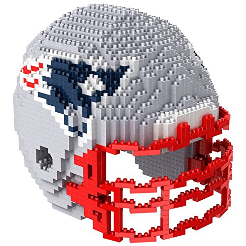 New England Patriots NFL Football Team 3D BRXLZ Helm Helmet Puzzle