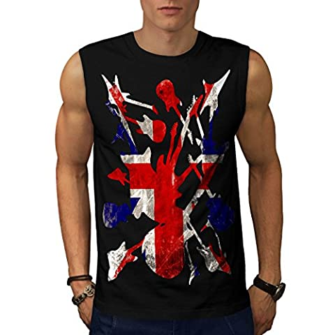 Rock&Roll Britain Men S Sleeveless T-shirt | Wellcoda