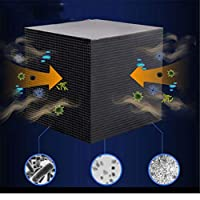 PMJAdd8s4 Fish Tank Water Purifier Cube New Filtration Material Rapid Water Purification Aquarium Filter Ultra-Absorption Activated Carbon Block
