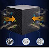 VICKY-HOHO Eco-Aquarium Wasserfilter Cube 10X10CM Ultra Strong Filtration & Absorption