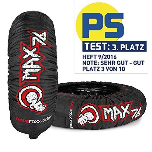 Reifenwärmer PRO 60/80° MAX 76, SUPERBIKE, RACEFOXX (Reifenwärmer Motorrad)