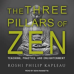 The three pillars of zen: teaching, practice, and enlightenment.