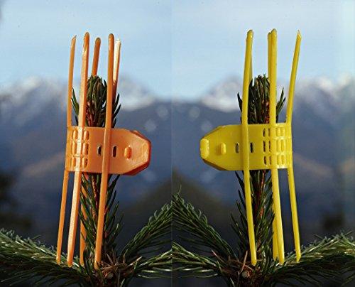 Verbissschutz Manschette gegen Wildverbiss gelb 100 Stück