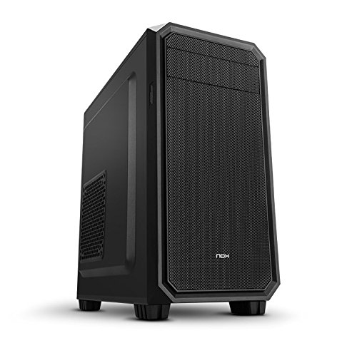 NOX Coolbay MX2 Mini-Tower Negro - Caja de ordenador...