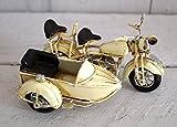 Lilienburg MOTORRAD mit Beiwagen Blechmodell Retro Blechmodell im Vintage Design
