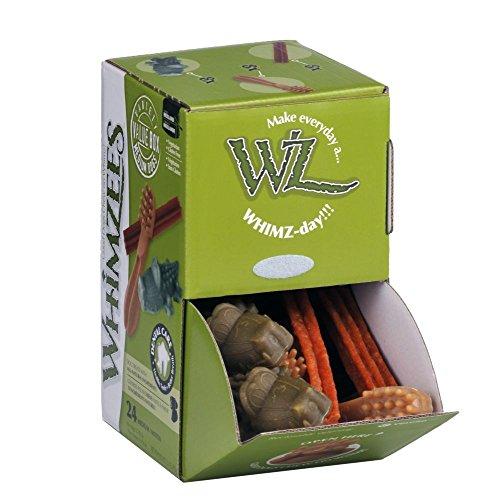 Kennelpak Whimzees Kausnack-Mischung, 24 Teile (Einheitsgröße) (Mehrfarbig)