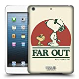 Head Case Designs Offizielle Peanuts Snoopy Woodstock Far Out Woodstock 50th Ruckseite Hülle für iPad Mini 1 / Mini 2 / Mini 3