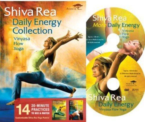 Preisvergleich Produktbild Shiva Rea: Daily Energy Collection (2pc) [DVD] [Region 1] [NTSC] [US Import]