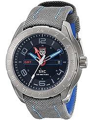 Espacio Luminox SXC 5121-GN 46 mm de acero inoxidable recubierto gris Reloj de nailon para hombre sintética Sapphire