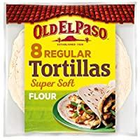 ‏‪Old El Paso 8 Soft Flour Tortillas, 326 gm‬‏