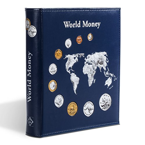 "Leuchtturm 323813 - Album monedas ""World Money"""