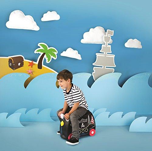 510qKNPoi%2BL - TRUNKI PEDRO PIRATA - TRK0312 Maleta de viaje para niños aventureros
