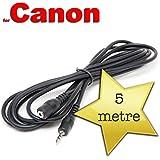 Pixel Peeper Câble d'extension pour télécommande déclencheur Canon RS-60E3 5m