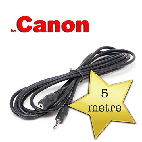 5m di cavo di prolunga per Canon RS 60E3scatto remoto