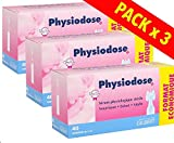 Suero fisiológico fisiodose - 3 cajas de 40 dosis únicas