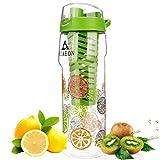 Fruit infused water bottle VIAEON flavored juice detox-Integrated Juicer Fruit infusing water bottle