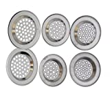 SystemsEleven STAINLESS STEEL SINK STRAINER BATH STRAINER SINK STRAINER PLUG STRAINER - SystemsEleven - amazon.co.uk