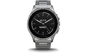 Vector L1-10-007 Luna Smartwatch (46 mm) Edelstahl, silber
