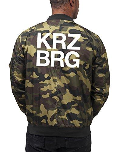 Kreuzberg Bomberjacke Camouflage Certified Freak-XXL
