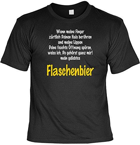Freund Lustige T-shirt (Mega-Shirt Lustiges Bier Sprüche T-Shirt mit Gratis Urkunde Flaschenbier Geschenkartikel Geschenkidee Fun T-Shirt Fun Shirt Biertrinker)