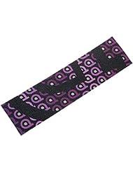 District - Grip logo 105x400 mm viol - Grip de trottinette - Violet - Taille Unique