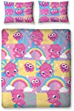 Character World Moshi Monsters Poppet Double Rotary Duvet Set, Multi-Color