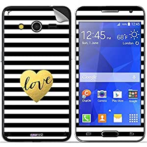 GsmKart SGC2 Mobile Skin for Samsung Galaxy Core 2 (Golden, Galaxy Core 2-818)