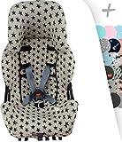 Bezug für Klippan Kiss 2 und Klippan Kiss 2 Plus mit Zentralverstärkung Luft Komfort Janabebe® (DARK SKY)