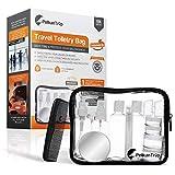 Kit Voyage Avion | Trousse de Toilette Avion Transparente + Contenant Cosmetique Vide...