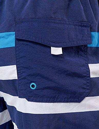 Schiesser Herren Badeshorts Swimshorts Blau (petrol 811)