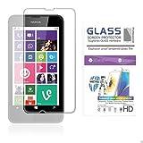 ANYfon Zubehör Nokia Lumia 630 / 635 / 630 Dual Sim Glasfolie Panzerfolie Schutzfolie - 9H Hartglas