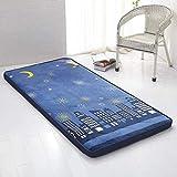 Tatami Boden Mat, Matratze Topper Futon Schlafen pad Japaner Klappbar Viele Dick Wohnzimmer Bett Roll-E 100x200x6cm