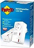AVM FRITZ!Powerline 530E Set (500 Mbit/s, Fast-Ethernet-LAN, Steckdose) geeignet für Deutschland