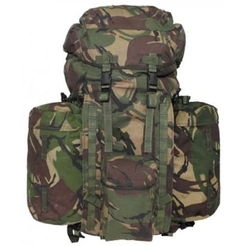 "510qQ3bW7gL. SS500  - Max Fuchs GB Backpack ""Plce Long"" Side Pockets DPM Camo Used"