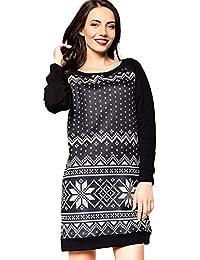 Zolimx Frauen Familie Passende Weihnachts Pyjamas Kleid Nachtwäsche Herren und Familie Sweatshirt Nachtwäsche Bluse