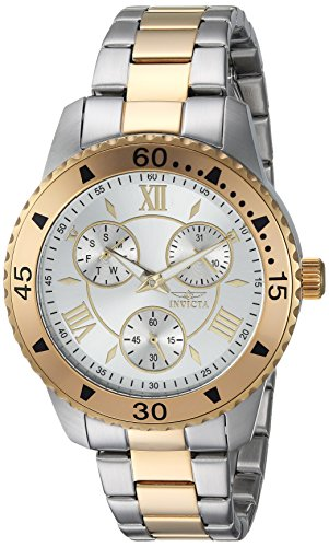 Invicta Womens Analog Quartz Watch with Stainless-Steel Strap 21770