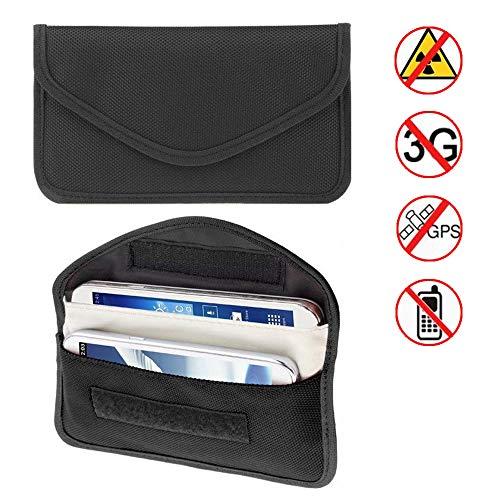 gzq KFZ Schlüssel Signal Blocker Fall Keyless Entry Signal RFID-blockierender Tasche Tasche Kreditkarte Displayschutzfolie Diebstahl Lock Geräte Wifi/GSM/LTE/NFC/RF Schlüsselanhänger Blockers -