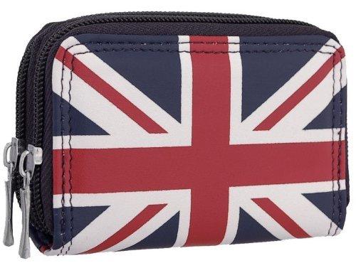 EyeCatchBags - Damen Geldbeutel Geldbörse Union Flag Navy -