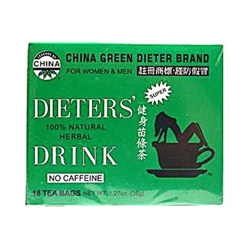 Onkel Lee's Diät Tee Gewicht-Verlust-Tee für Herren und Damen - 18 Tea Bags - Diäten-gewicht-verlust