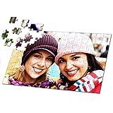 PixiPrints Fotopuzzle Selbst Gestalten * A3 A4 Herz * eigenes Foto Personalisiertes Design, Puzzle:A4-120 Teile