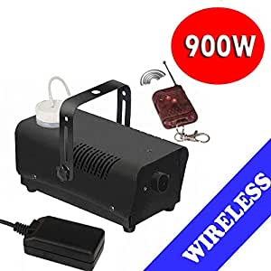 GBL® Wireless Smoke 900w Fog Machine DJ Disco Laser Light Club Fogger Home Pub