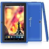 Quad core Yuntab 7 pouces Tablette Tactile Allwinner A33 HD 1024 X 600 Tablette PC Android 4.4.2 KITKAT 8 Go WiFi Support 3D Jeux Google Play Store Youtube Netflix Jeux (bleu)